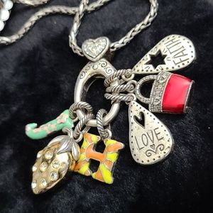 Brighton Necklace with cute  Charms
